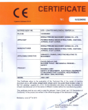 ce certificate for JW31-160 straight side press 160ton