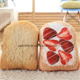 Plush Stuffed Bread Shaped Sofa Cushion