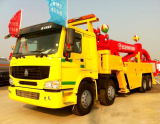 Road wrecker truck with different loading capacity