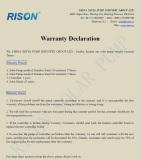 Solar Pump Warranty