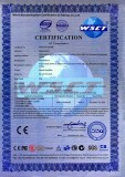 CE Certificate for Signal Amplifier