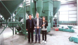 Canada cutomer visited us for carbon refining plant
