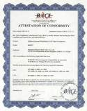 CE authentification certificate (HT8527)