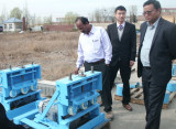 Indian Client Visited DCI for Gypsum Powder and Board Line