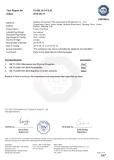 TUV Certificate of Foam Post Pad