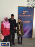 Comstor from Fiji come to visit our factory in Hangzhou during Dec 9th-11th