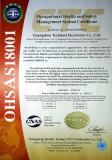 OHSAS18001 Certificate