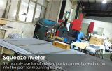 Squeeze riveter