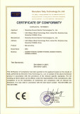 (LVD) CE Certificate for EDS800 Series