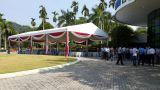 15x25m wedding tent in Malaysia