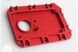 Custom CNC Machinery Part OEM Red Anodizing Machining Tool Part