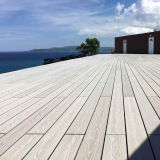 Natural Color Wpc Deck Flooring Plastic Composite Wpc Decking Floor/Outdoor Composite Deck Wpc