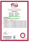 Certificatrs for LED Flood Light