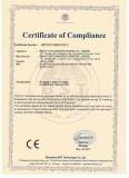 Certificate LED G24 PL Lamp CE LVD
