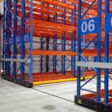 heavy duty mobile pallet rack for cold store