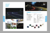 Application & Solar road stud