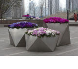 Hotel And Apartment Stainless Steel flower pots