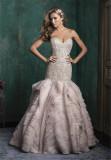 Stunning Beading Bodice Mermaid Wedding Dress Prom Dress (Dream-100033)