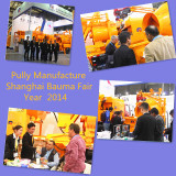 Pully Manufacture in Shanghai Bauma Fair 2014 Year