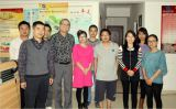 Allen( U.S.A ) came to our company to discuss insect repellent products(2013, March )