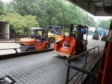 Heli Forklifts Container Loading Working Site