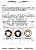 Deep Groove Ball Bearing (Ask for more)