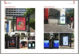 Advertising door with contactless RFID reader Project 1