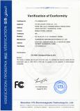 FCC certification report