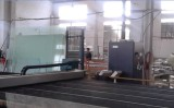 Glass cutting production line