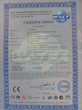 CE Certificate for LED Wall washer