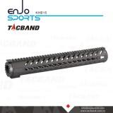 10 Inch Picatinny Rail Keymod Handguard Carbon Fiber Composite