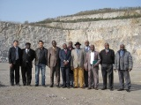 African Delegation Visits Dolomite Mine