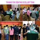 TAMA TRAINING FOR CREATING EXCELLENT TEAM