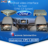 Car Android Navigation Video Interface box for 2016 NEW Models Ford (SYNC-G3 All series)