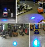Blue LED Forklift Warning Light expands safety in work areas.