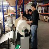 Kazakhstan customer inspection machine photo