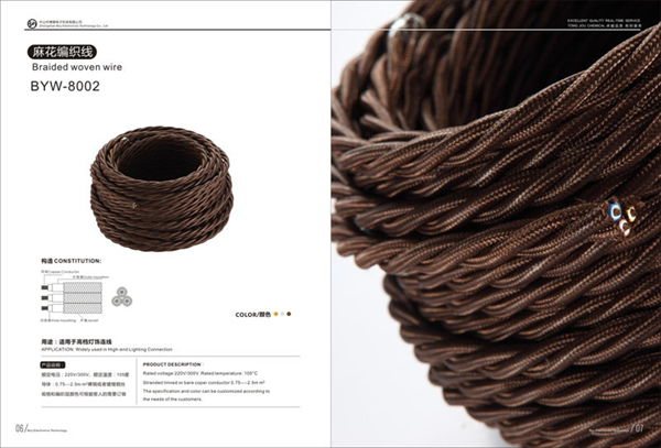 Braided wowen wire(6-7)