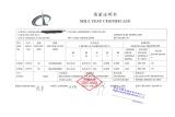 Mill Test Certificate-SS400 Steel Plate