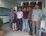 Indonesia customer visiting