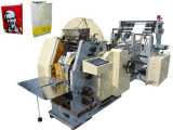 Automatic Paper Food Bag Making Machine.