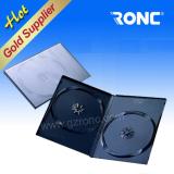CD DVD Case 9mm Black Rectangle single/double DVD Cases