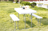 3pcs beer table and bench set