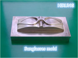 sunglasses mould processed by our machine