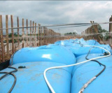 The project department of CRCC purchased ARD PVC soft bridge pre-loading of water tank