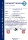 SJY series mobile scissor lift CE certification