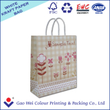 High quality latest design recyclable offset printing kraft paper bag