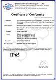 IP65 certificate of Solar Street Light