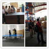 Customer visit our factory