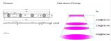 Design led grow light for model Myan-AC120