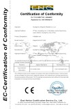 CE Certificate of Infaltable tent